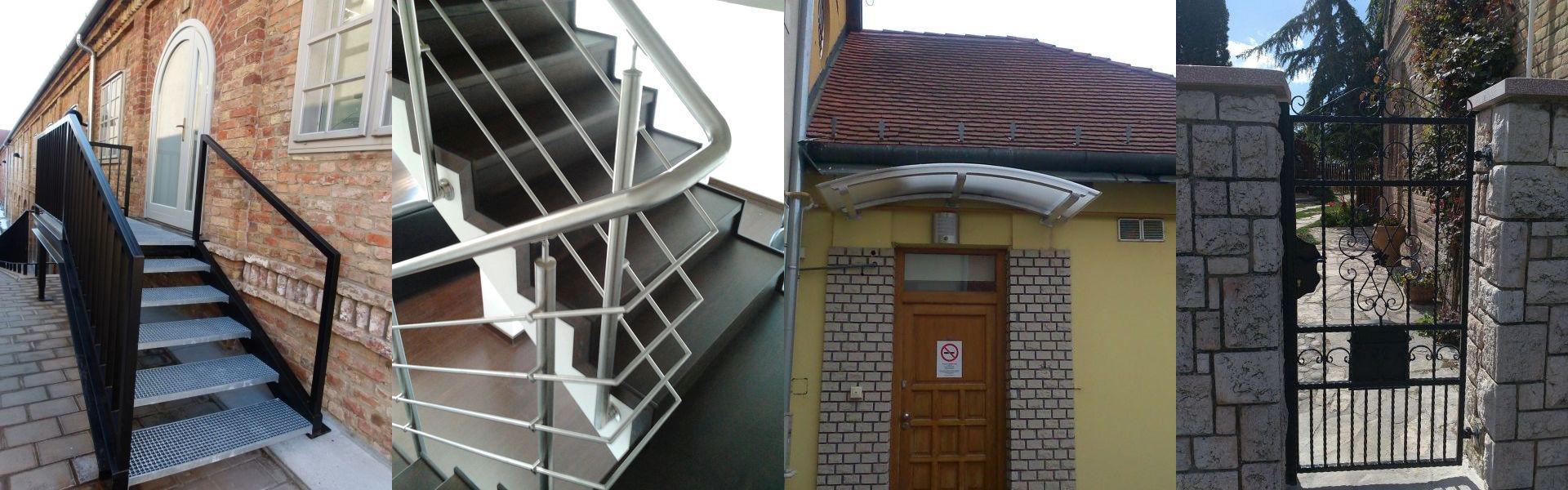 lakatos, lakatos Pécs, lépcső, lépcső Pécs, hegesztő, hegesztő Pécs, rácsok, rácsok Pécs